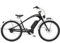 e-Cruiserbike Electra Bicycle Ghostrider Go! Black Shadow