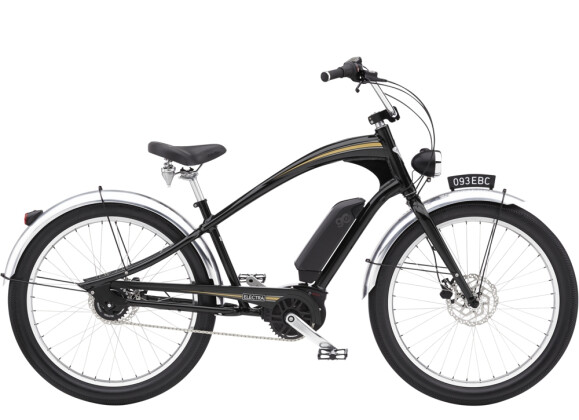 e-Cruiserbike Electra Bicycle Ghostrider Go! Black Shadow 2021