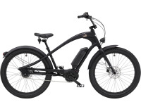 e-Cruiserbike Electra Bicycle Ace of Spades Go! Matte Black