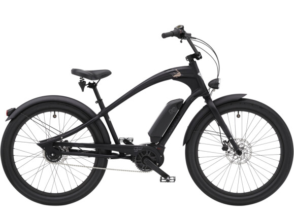 e-Cruiserbike Electra Bicycle Ace of Spades Go! Matte Black 2021