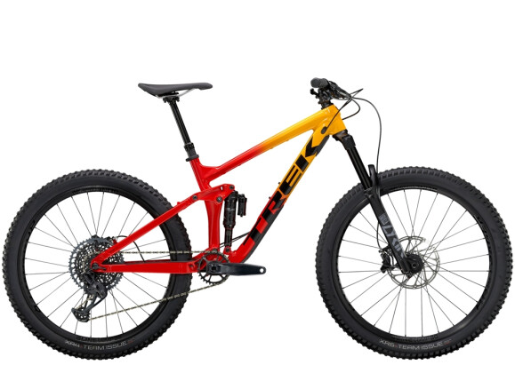 Mountainbike Trek Remedy 8 Gelb/Rot 2021