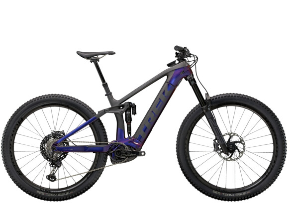e-Mountainbike Trek Rail 9.9 XTR Lila/Carbon 2021