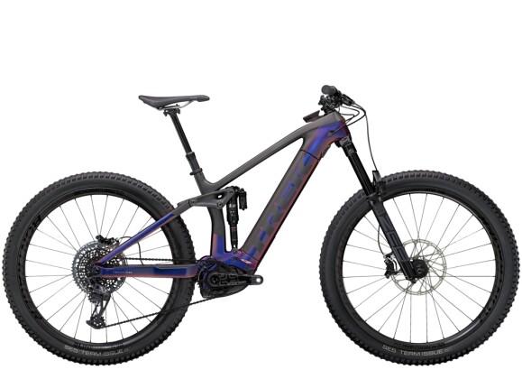 e-Mountainbike Trek Rail 9.9 Lila/Carbon 2021
