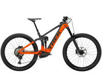 e-Mountainbike Trek Rail 9.8 XT Anthrazit/Orange