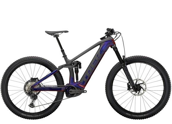 e-Mountainbike Trek Rail 9.8 XT Lila/Carbon 2021