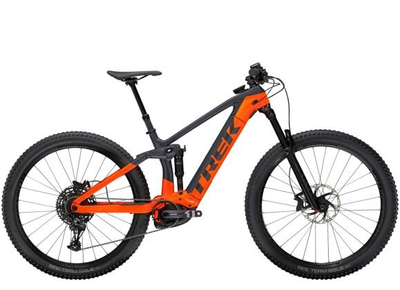 e-Mountainbike Trek Rail 9.7 Anthrazit/Orange 2021