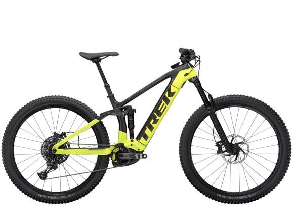 e-Mountainbike Trek Rail 9.7 Carbon/Grün 2021
