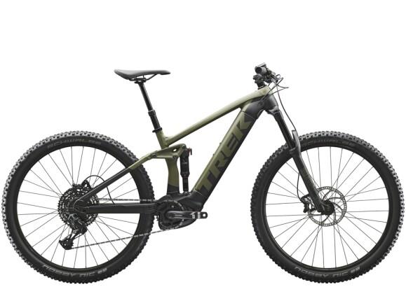 e-Mountainbike Trek Rail 5 625Wh Grün/Schwarz 2021