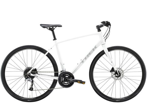 Crossbike Trek FX 3 Disc Weiss 2021