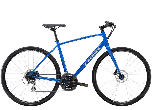 Crossbike Trek FX 2 Disc Blau 2021