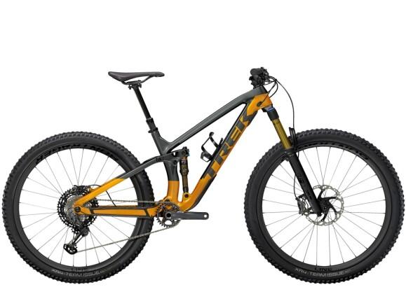 Mountainbike Trek Fuel EX 9.9 XTR Anthrazit/Orange 2021