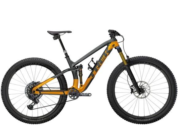 Mountainbike Trek Fuel EX 9.9 X01 AXS Anthrazit/Orange 2021