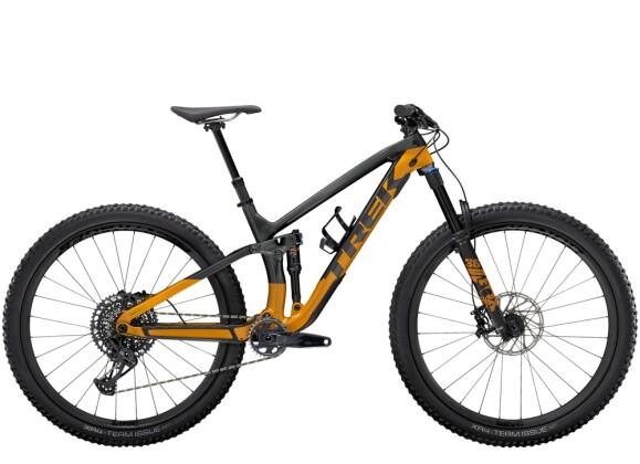 Mountainbike Trek Fuel EX 9.8 GX Anthrazit/Orange 2021