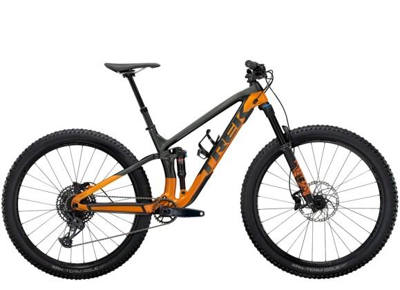 Mountainbike Trek Fuel EX 9.7 Anthrazit/Orange 2021