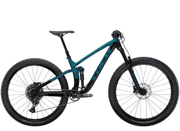 Mountainbike Trek Fuel EX 7 Grün/Schwarz 2021
