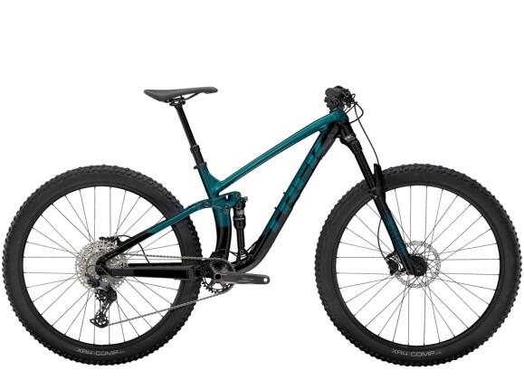 Mountainbike Trek Fuel EX 5 Grün/Schwarz 2021