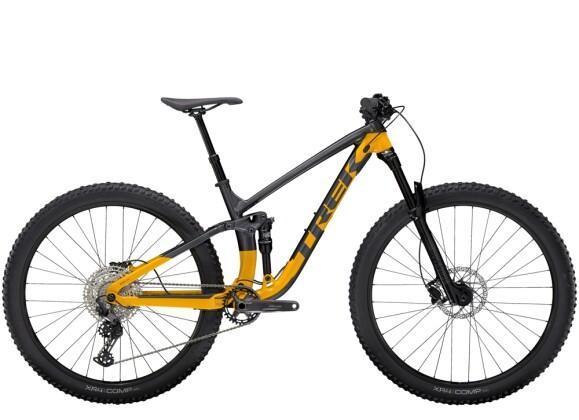 Mountainbike Trek Fuel EX 5 Anthrazit/Gelb 2021