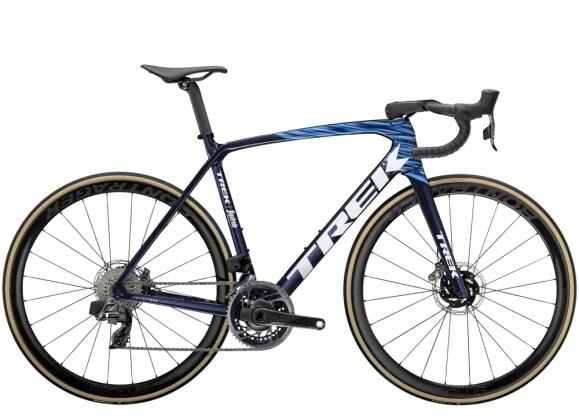 Race Trek Émonda SLR 9 eTap Blau 2021