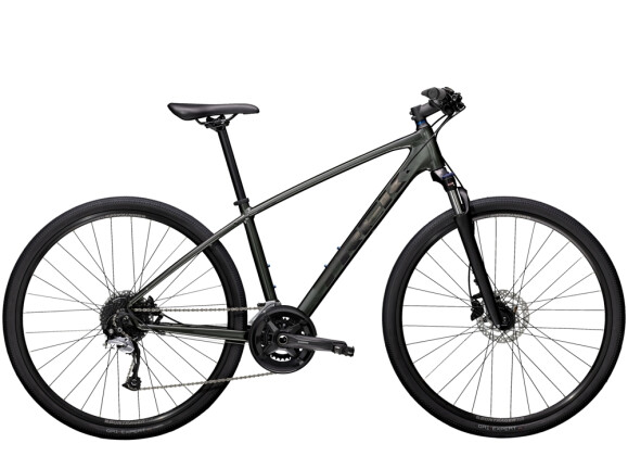 Crossbike Trek Dual Sport 3 Anthrazit 2021