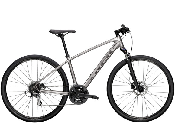 Crossbike Trek Dual Sport 2 Silber 2021