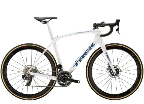 Race Trek Domane SLR 9 eTap Weiss/Blau 2021