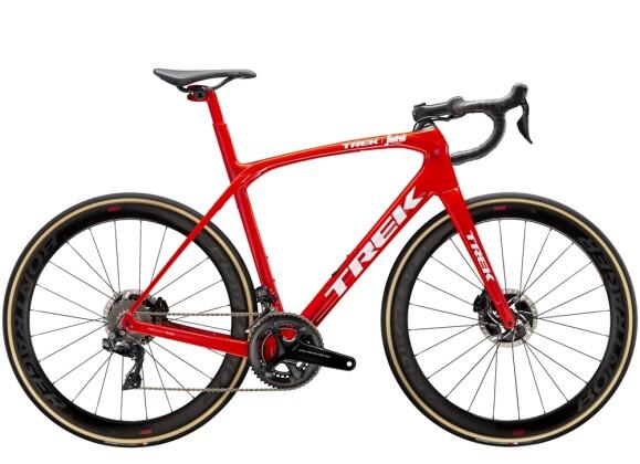 Race Trek Domane SLR 9 Rot/Weiss 2021