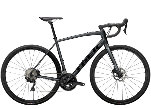 Race Trek Domane AL 5 Disc Anthrazit/Schwarz 2021
