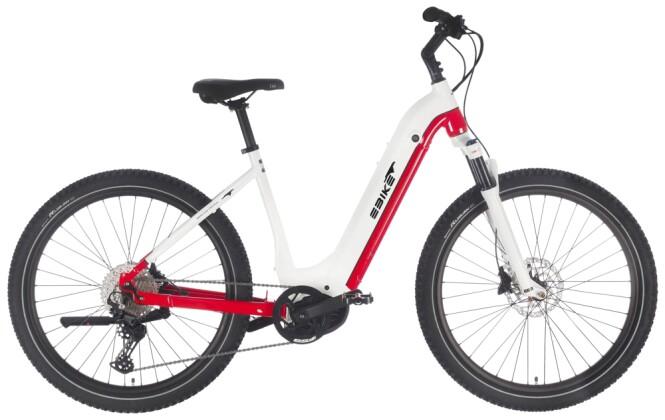 e-Mountainbike EBIKE.Das Original OFFROAD Pro Wave weiss 2021