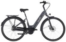 e-Citybike EBIKE.Das Original CITY Pro Wave FL Gates grau