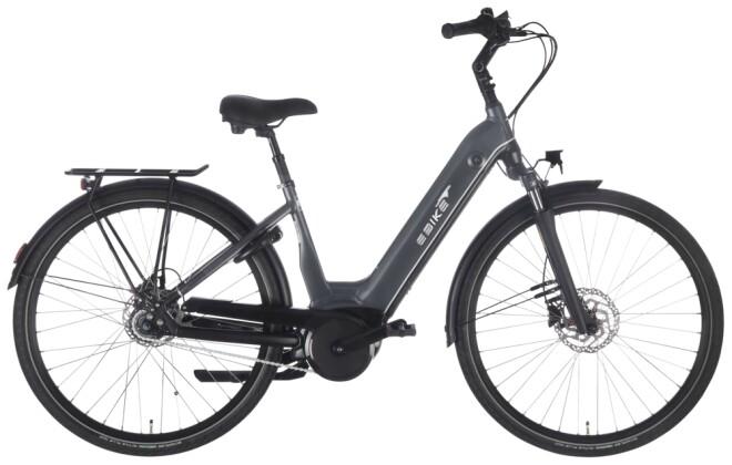 e-Citybike EBIKE.Das Original CITY Pro Wave FL Gates grau 2021