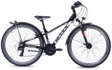 Kinder / Jugend S´cool troX EVO alloy 26-21 black/grey/red