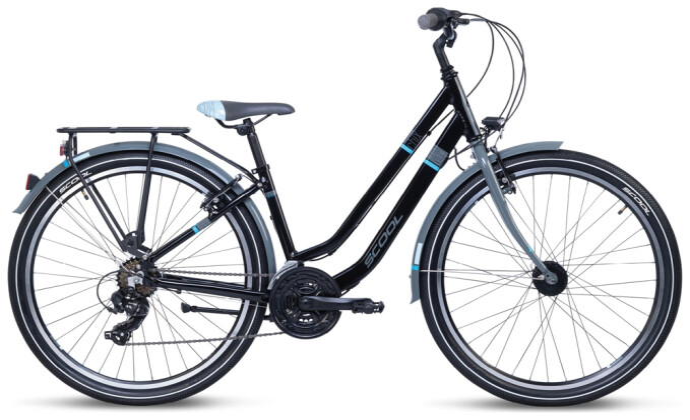 Kinder / Jugend S´cool chiX twin alloy 26-21 black/blue 2021