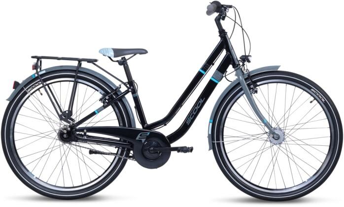 Kinder / Jugend S´cool chiX twin alloy 26-7 black/blue 2021