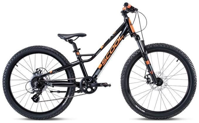 Kinder / Jugend S´cool faXe race alloy 24-8 black/orange 2021