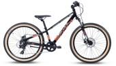 Kinder / Jugend S´cool Xroc alloy 24-8 black/grey/red