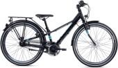 Kinder / Jugend S´cool troX EVO alloy 24-7 black/cyan