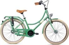 Kinder / Jugend S´cool chiX classic 24-3 flower-green