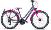 Kinder / Jugend S´cool chiX twin alloy 24-21 turquoise/violet