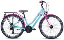 Kinder / Jugend S´cool chiX twin alloy 24-21 turquoise/violet