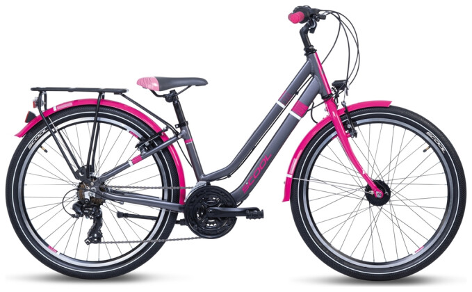 Kinder / Jugend S´cool chiX twin alloy 24-21 black/berry 2021