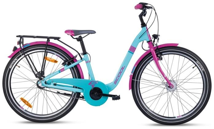 Kinder / Jugend S´cool chiX alloy 24-3 turquoise/violet 2021