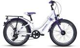 Kinder / Jugend S´cool chiX twin alloy 20-7 white/violet