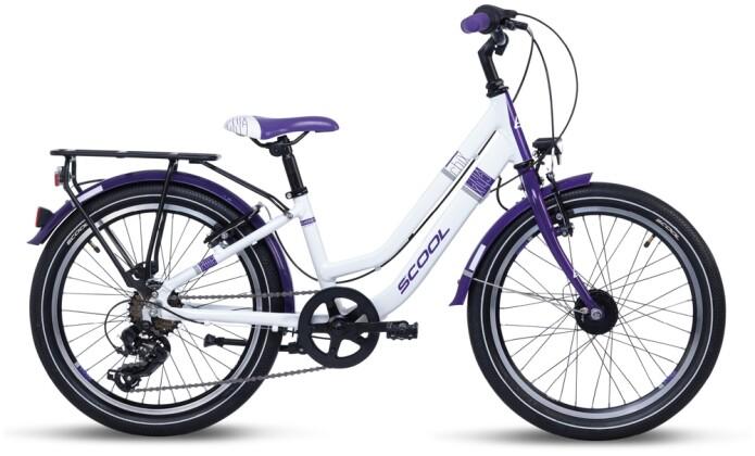 Kinder / Jugend S´cool chiX twin alloy 20-7 white/violet 2021