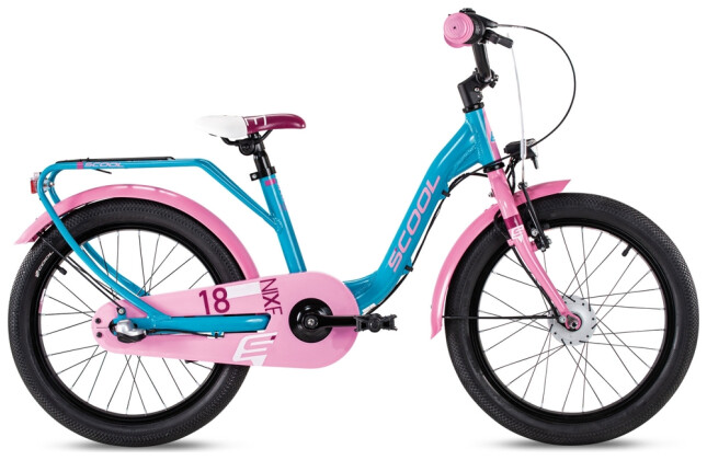 Kinder / Jugend S´cool niXe street alloy 18-3 turquoise/pink 2021