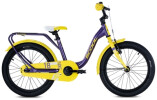 Kinder / Jugend S´cool niXe alloy 18 purple /yellow