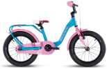 Kinder / Jugend S´cool niXe alloy 16 turquoise/pink