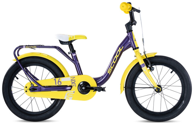 Kinder / Jugend S´cool niXe alloy 16 purple /yellow 2021