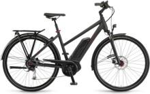 e-Trekkingbike Winora Tria 9 Schwarz matt Mid