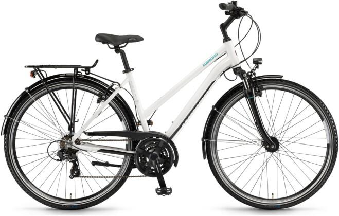 Trekkingbike Winora Domingo 21 Telegrau/Schwarz Mid 2021