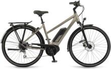 e-Trekkingbike Winora Tria 8 Sandstein Mid